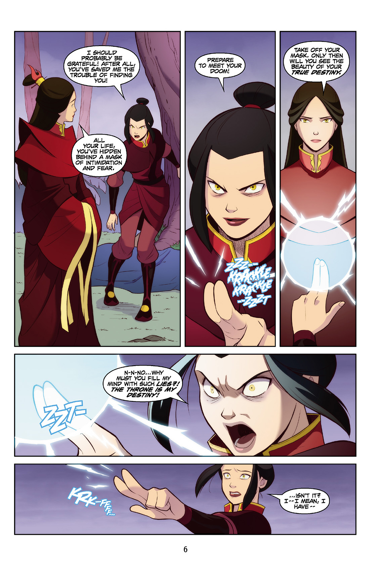 Read online Nickelodeon Avatar: The Last Airbender - The Search comic -  Issue # Part 2 - 7