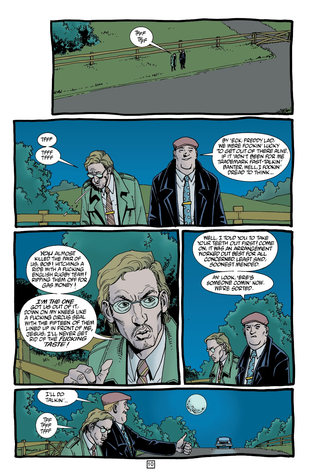 Preacher Issue #53 #62 - English 11