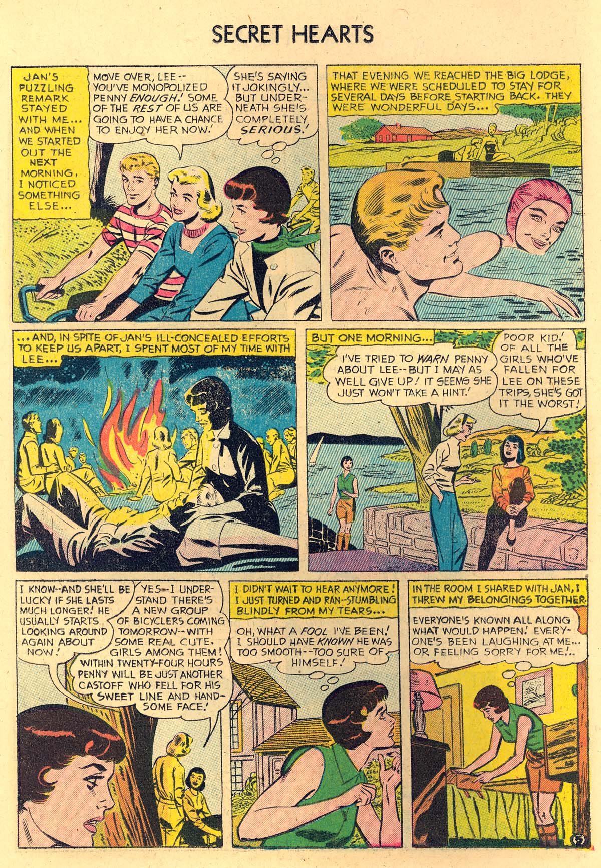Read online Secret Hearts comic -  Issue #35 - 14
