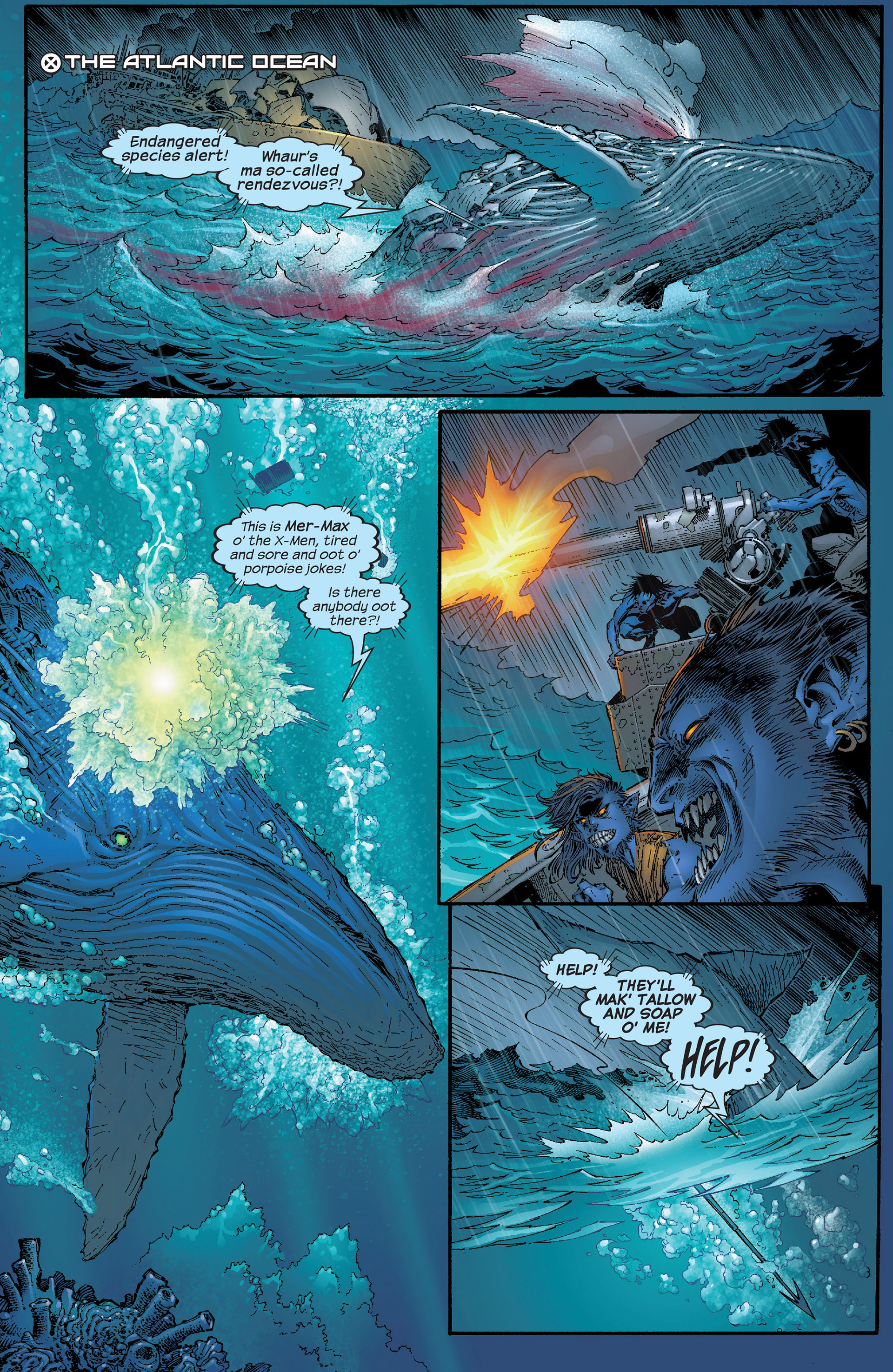 Read online New X-Men (2001) comic -  Issue #153 - 12