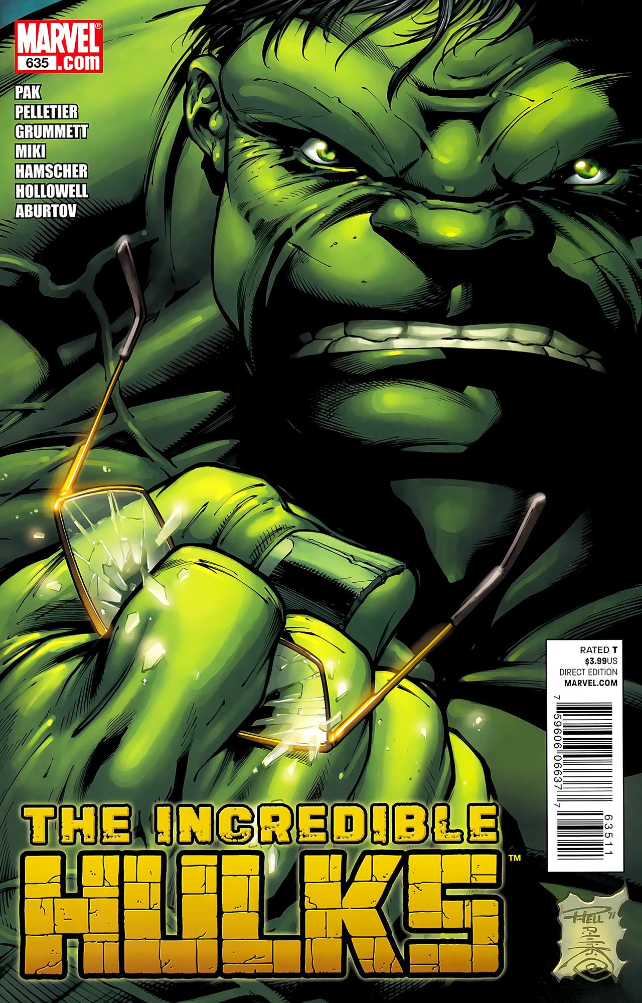Incredible Hulks (2010) #635 #26 - English 1