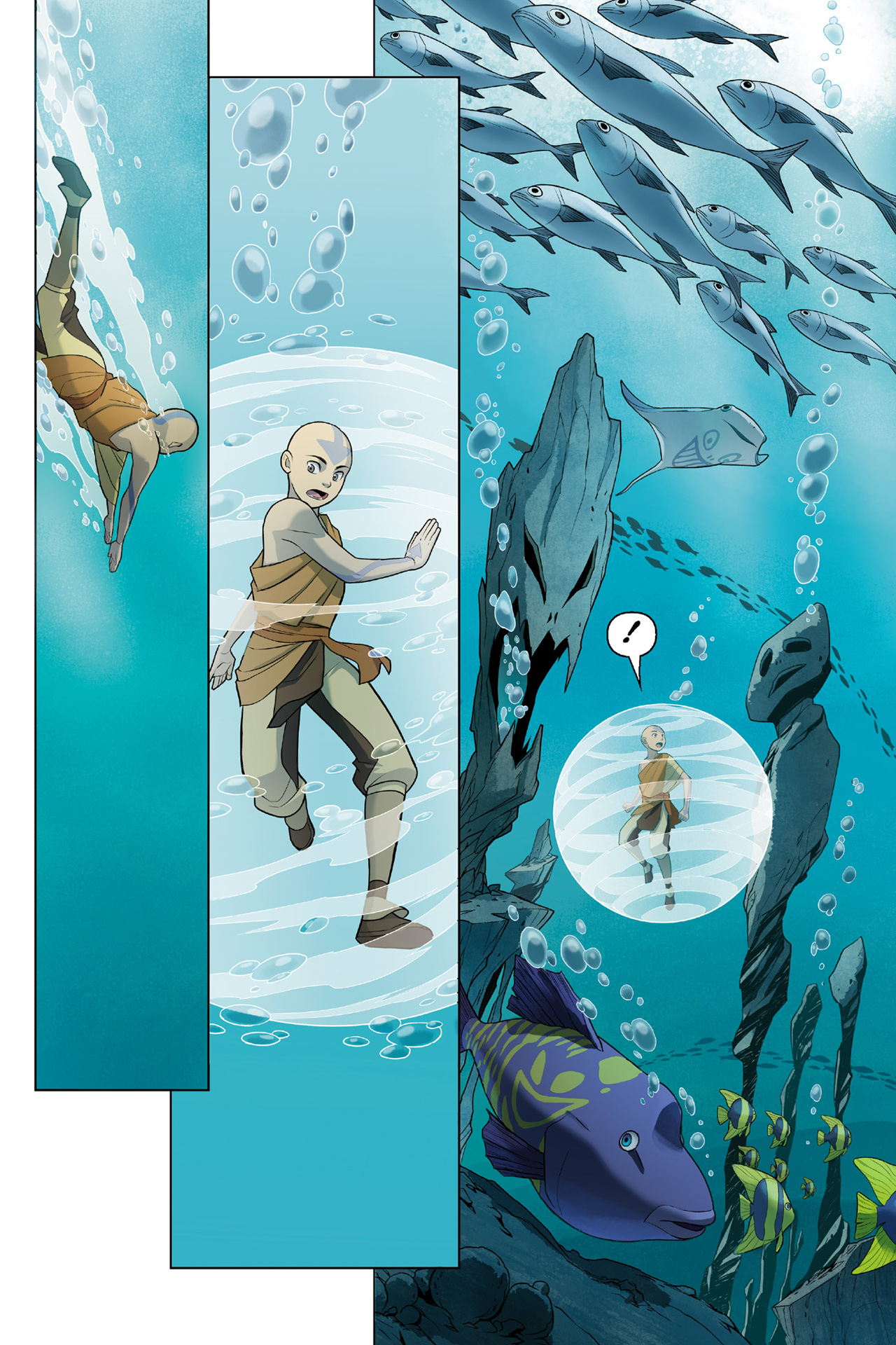 Read online Nickelodeon Avatar: The Last Airbender - The Search comic -  Issue # Part 3 - 23
