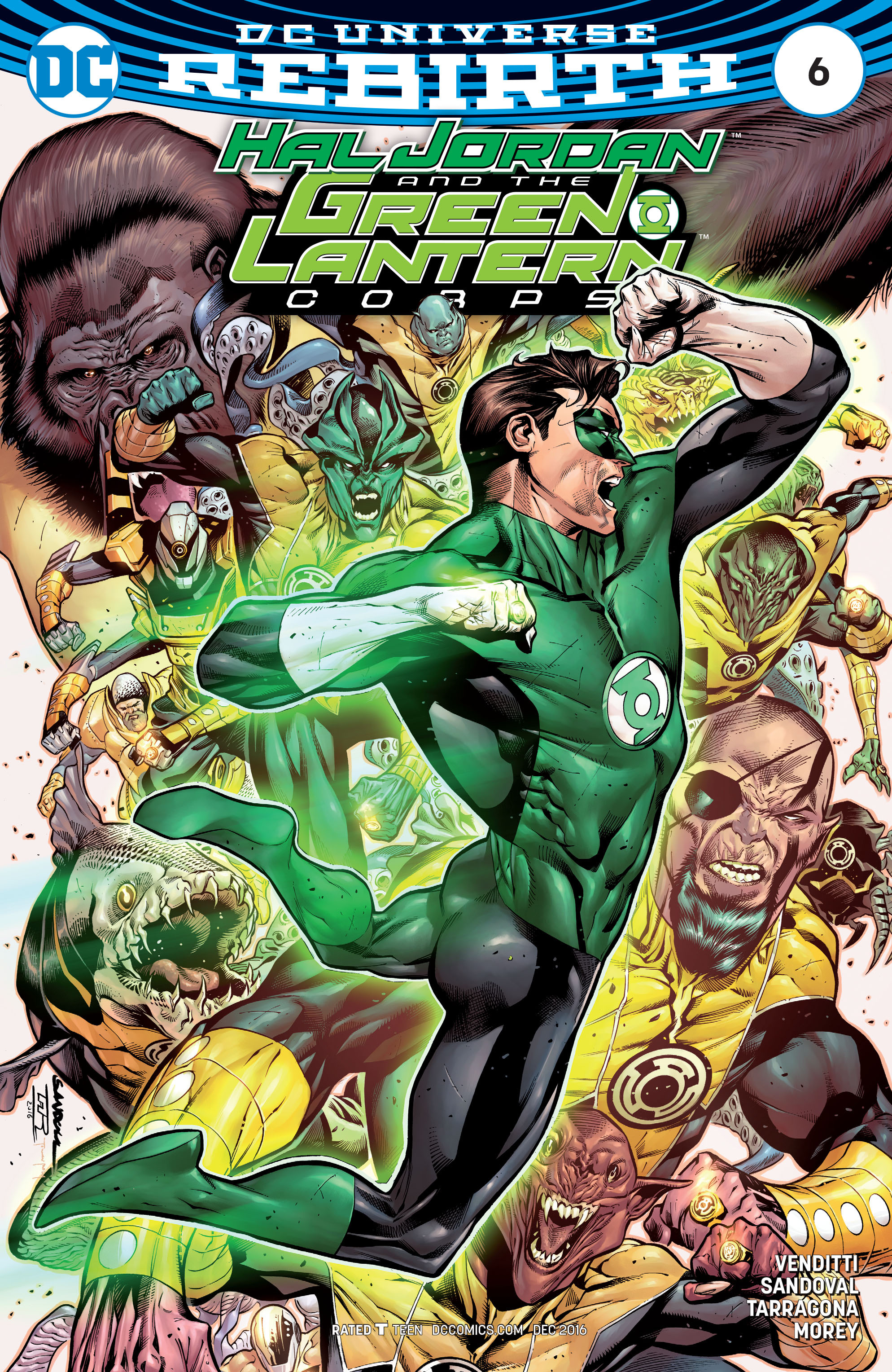Hal Jordan & the Green Lantern Corps: Rebirth issue 6 - Page 1