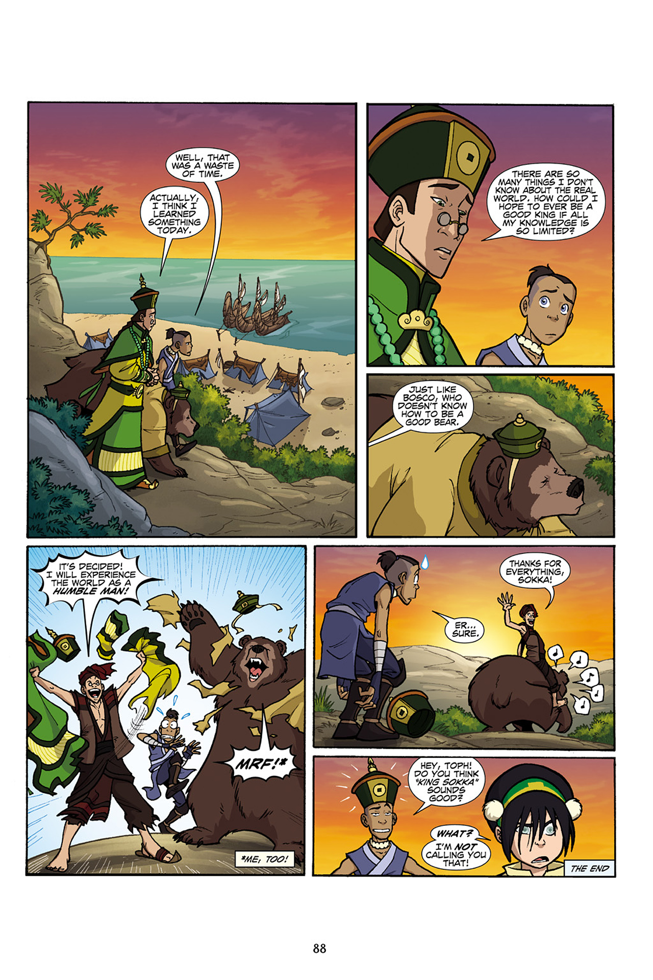 Nickelodeon Avatar: The Last Airbender - The Lost Adventures chap full pic 89