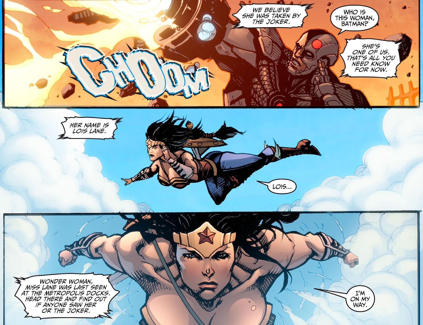 Injustice: Gods Among Us [I] Issue #2 #3 - English 10