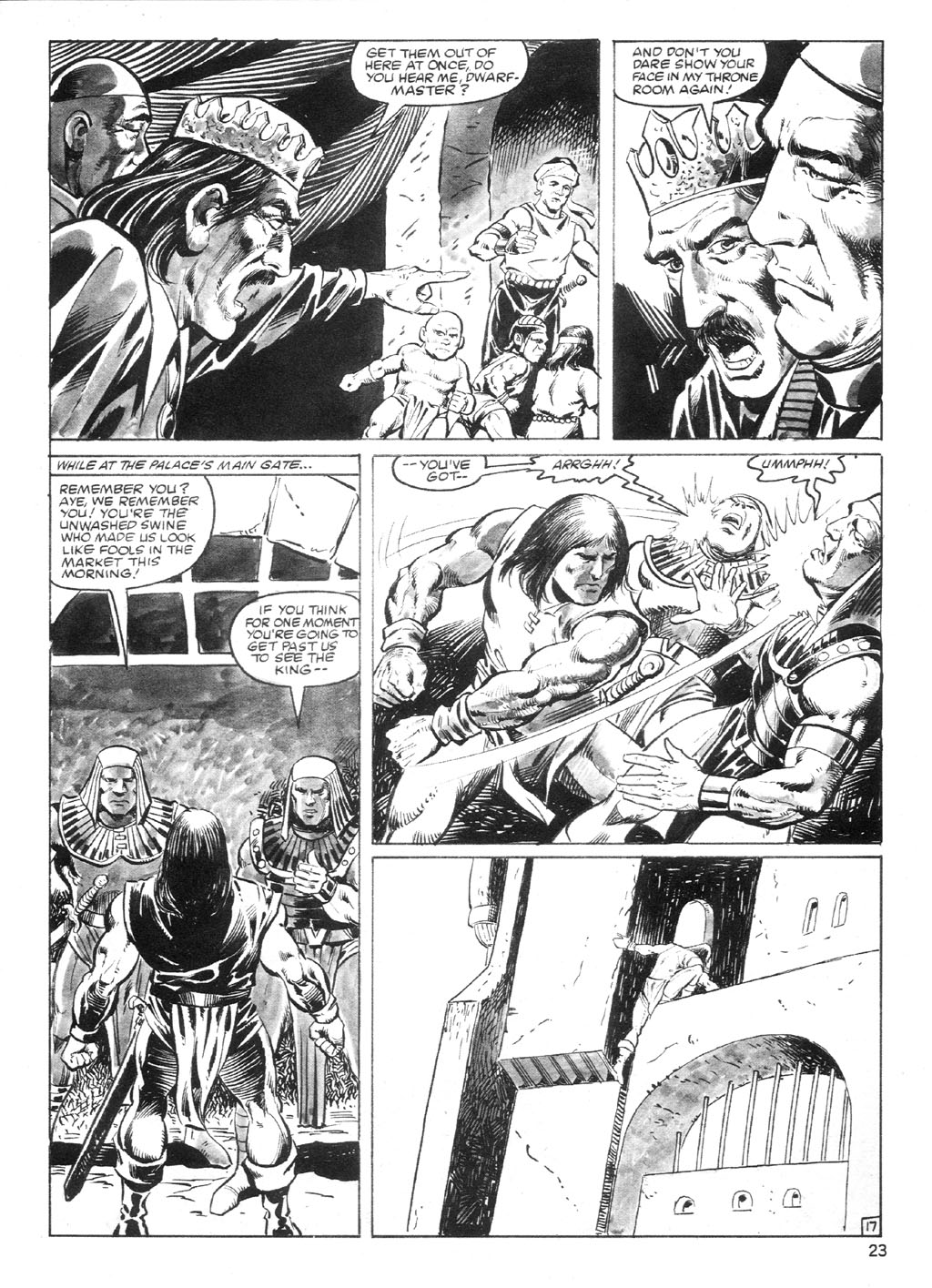 The Savage Sword Of Conan Issue #94 #95 - English 22