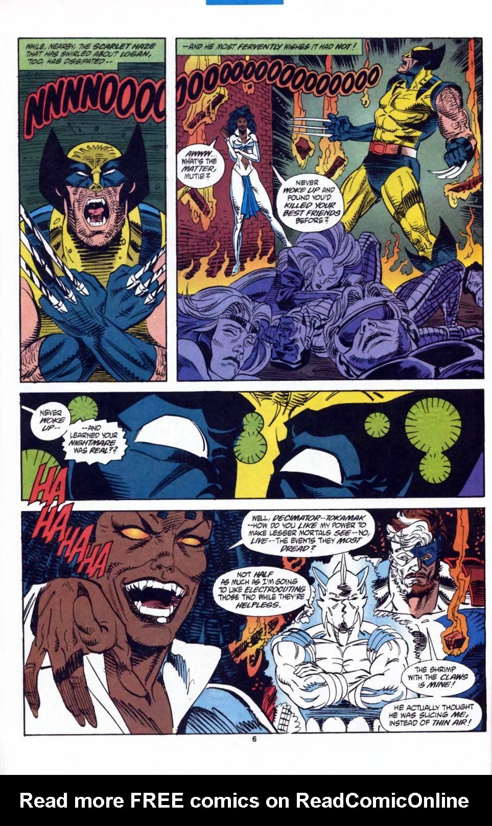 Read online Secret Defenders comic -  Issue #2 - 6