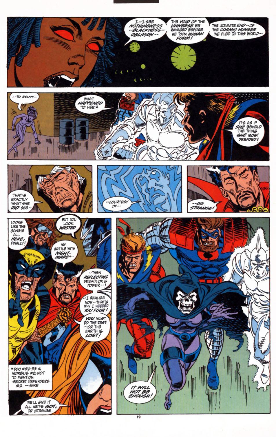 Read online Secret Defenders comic -  Issue #3 - 16