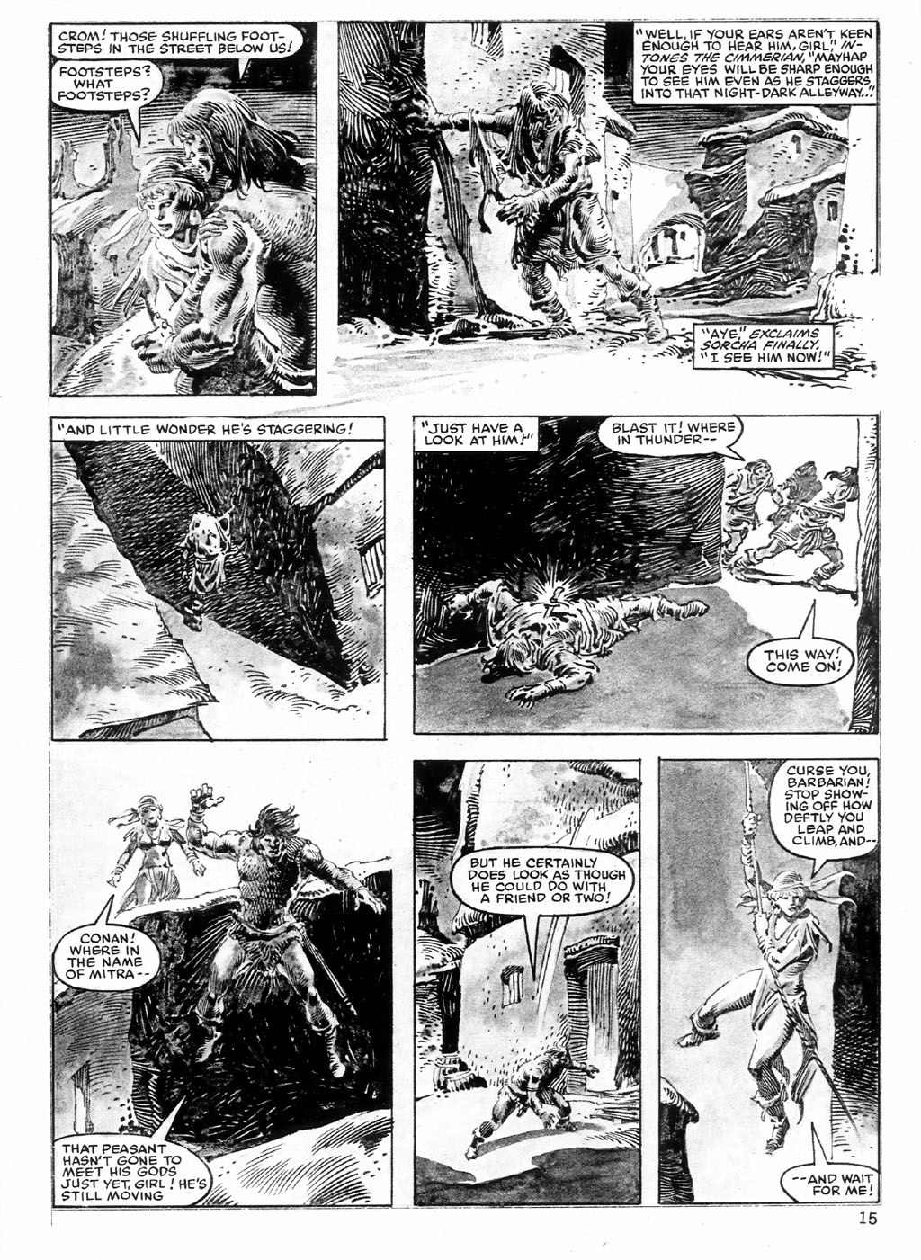 The Savage Sword Of Conan Issue #98 #99 - English 15