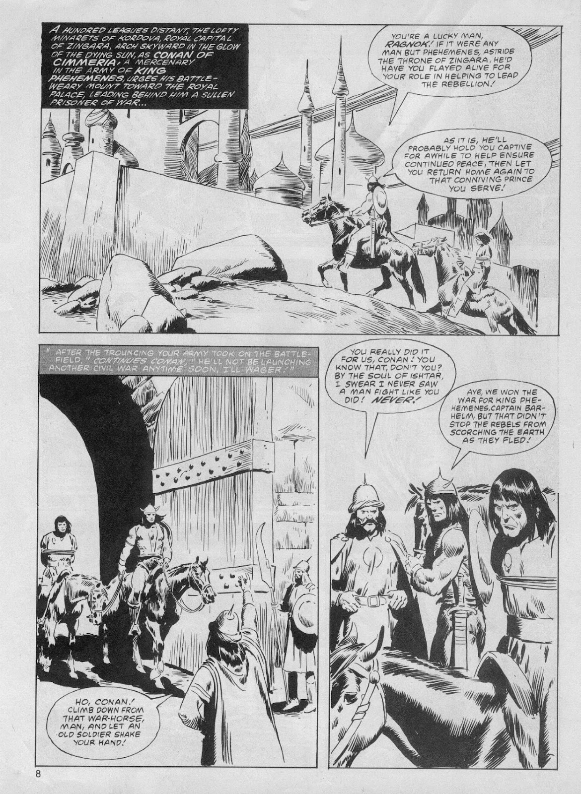 The Savage Sword Of Conan Issue #61 #62 - English 8