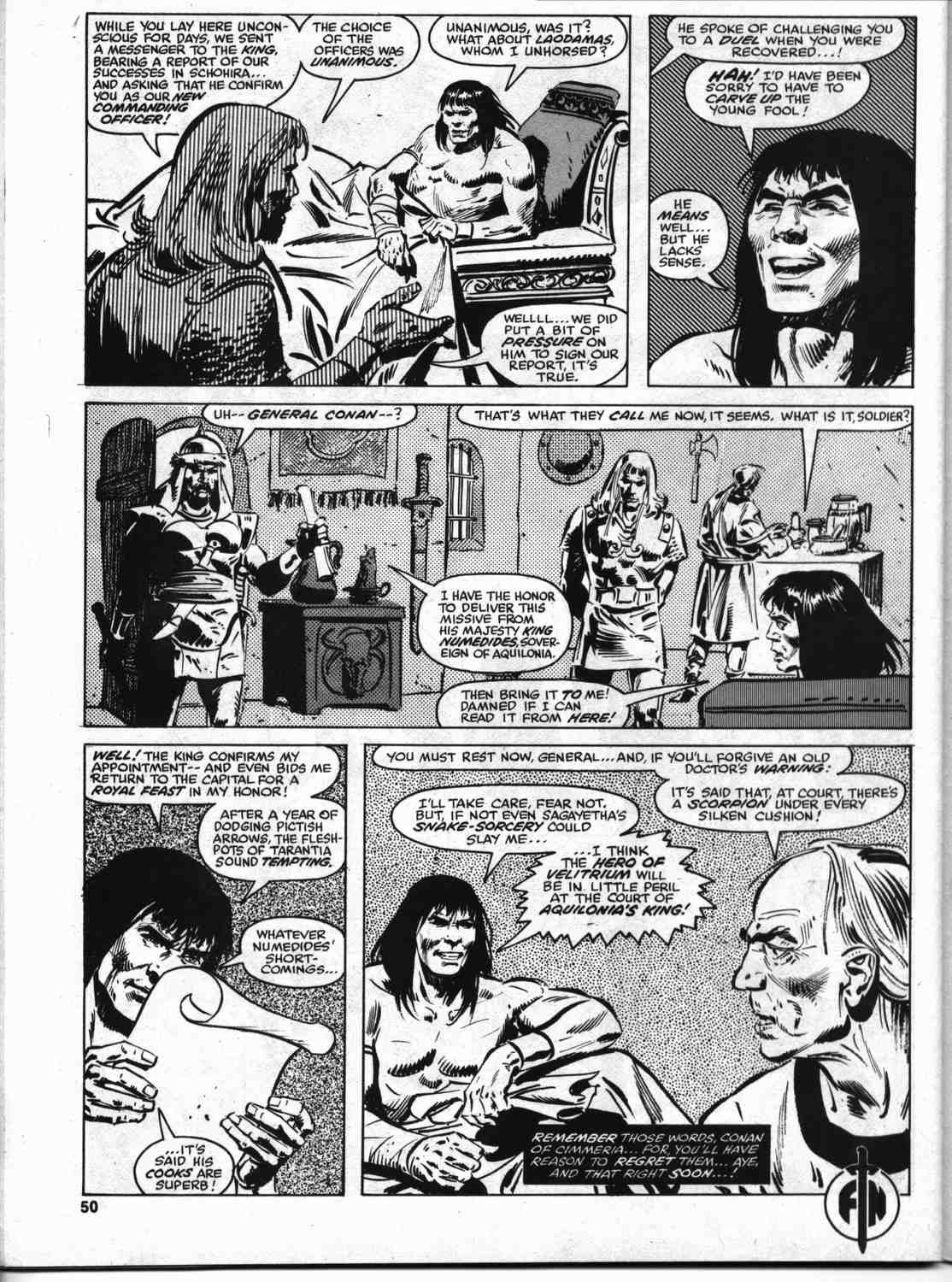 The Savage Sword Of Conan Issue #46 #47 - English 49