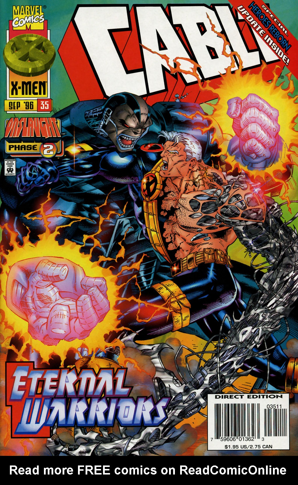 Cable (1993) 35 Page 1