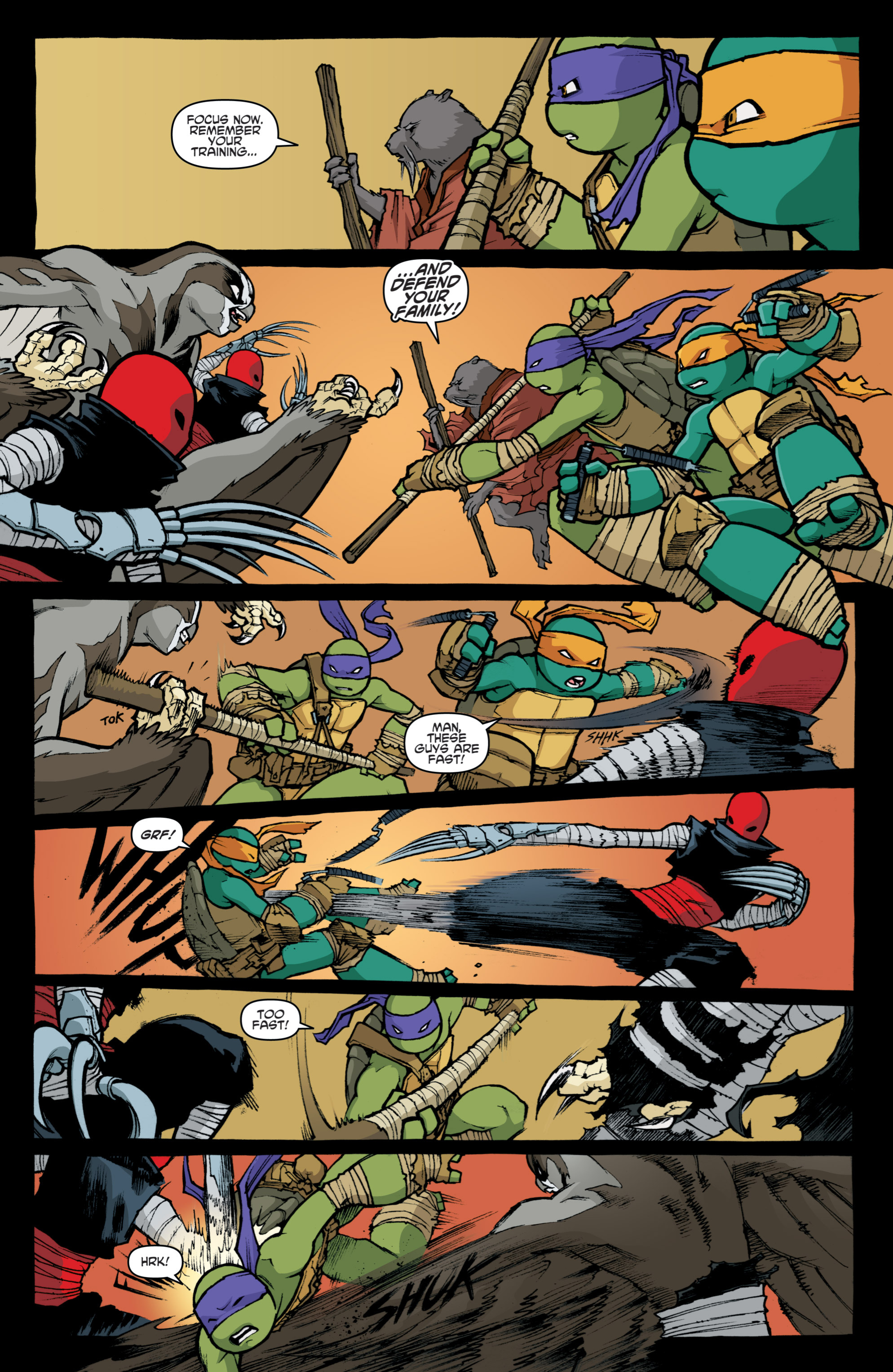 Read online Teenage Mutant Ninja Turtles (2011) comic -  Issue #31 - 24