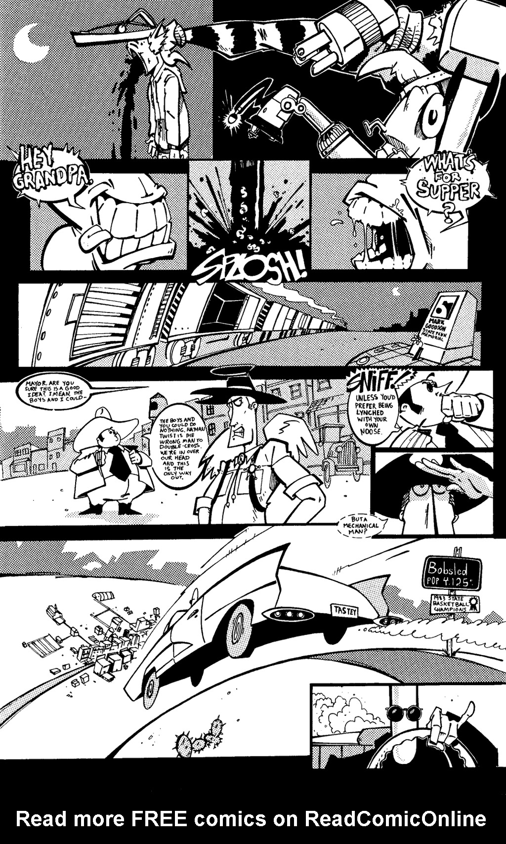 Read online Scud: The Disposable Assassin (1994) comic -  Issue #6 - 17