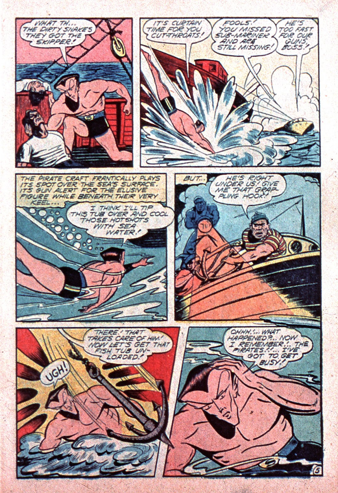 Sub-Mariner Comics Issue #15 #15 - English 7