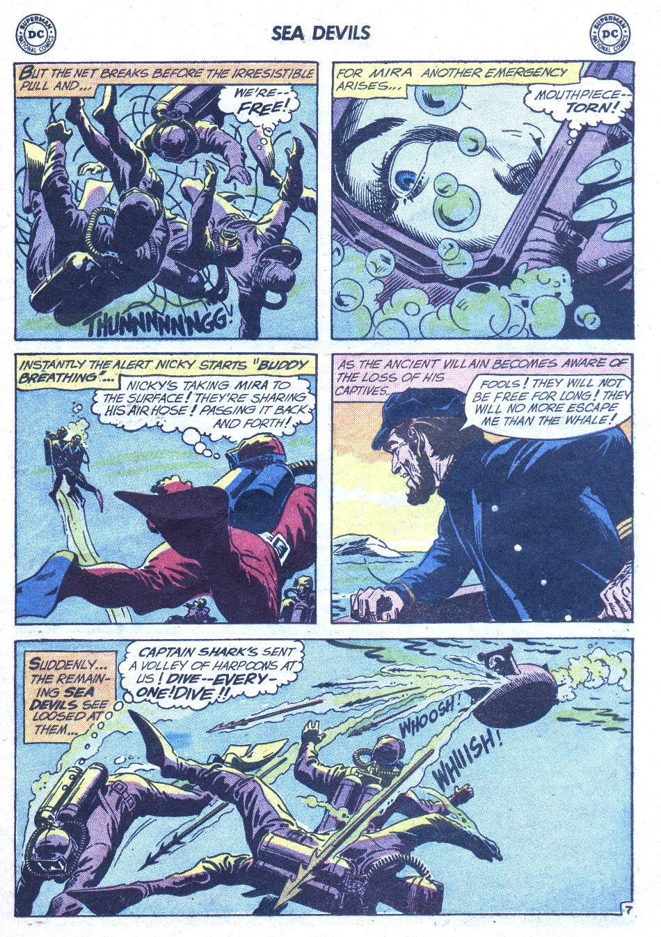 Read online Sea Devils comic -  Issue #1 - 28