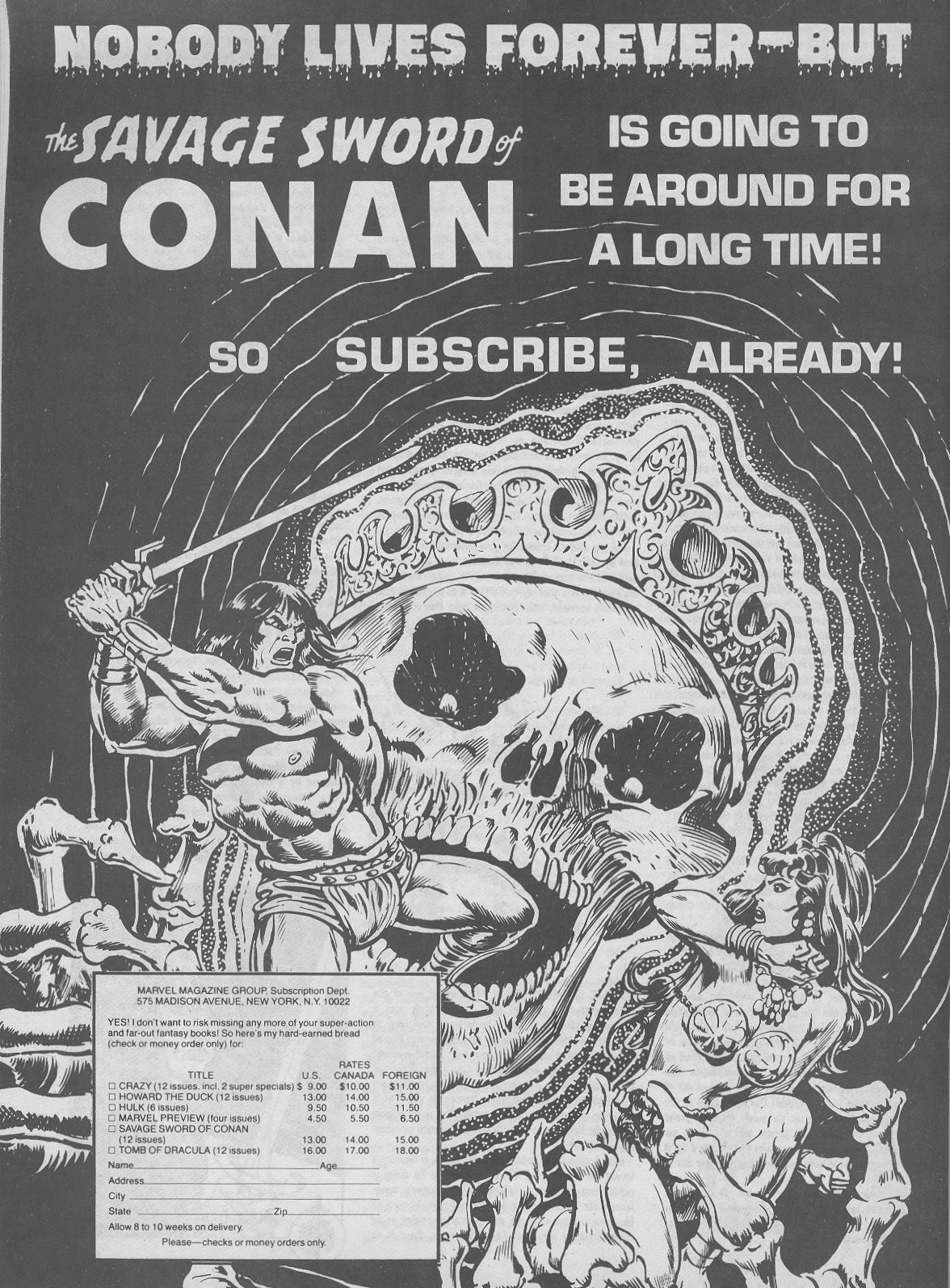 The Savage Sword Of Conan Issue #44 #45 - English 66