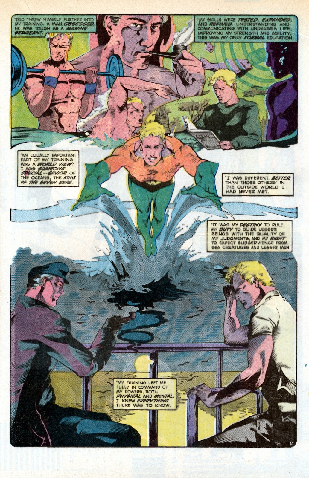 Aquaman (1986) Issue #3 #3 - English 17