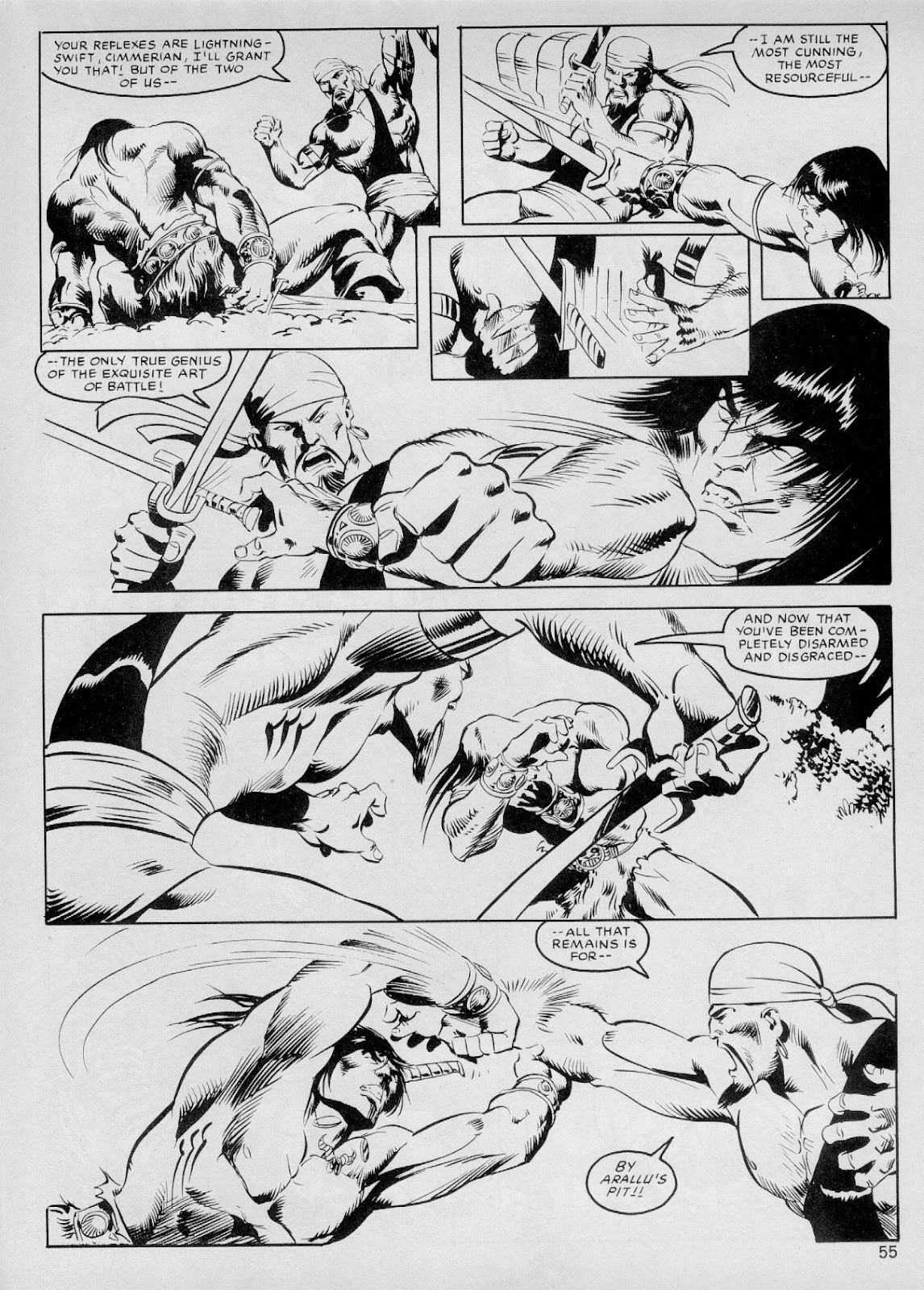 The Savage Sword Of Conan Issue #103 #104 - English 54