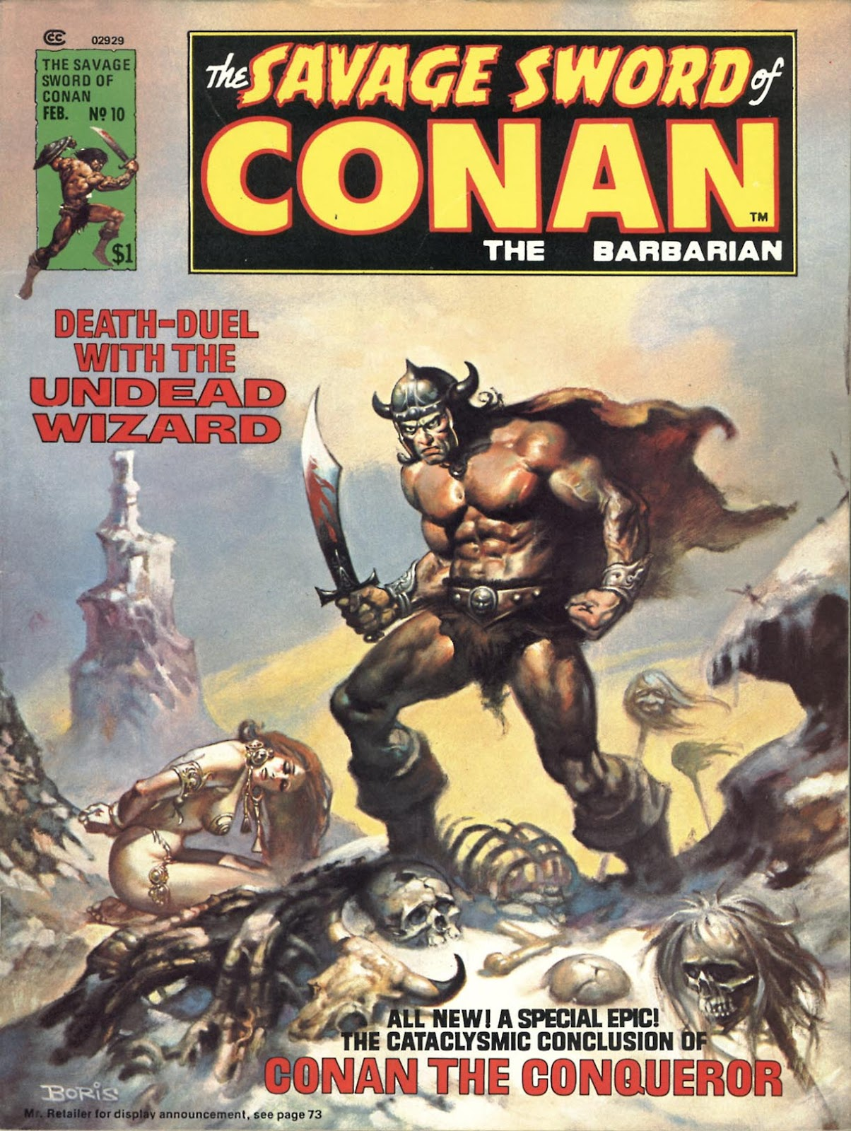 The Savage Sword Of Conan Issue #10 #11 - English 1