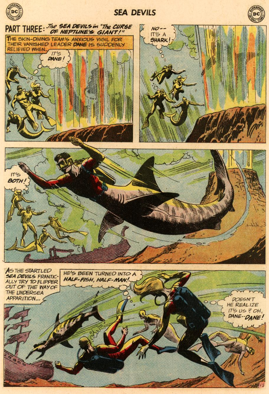 Read online Sea Devils comic -  Issue #8 - 20