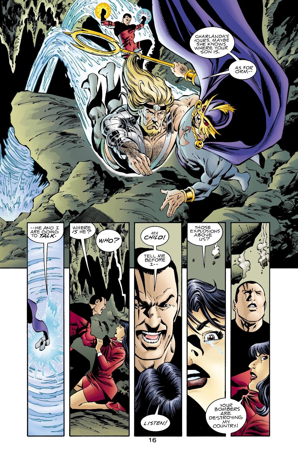 Aquaman (1994) Issue #67 #73 - English 16