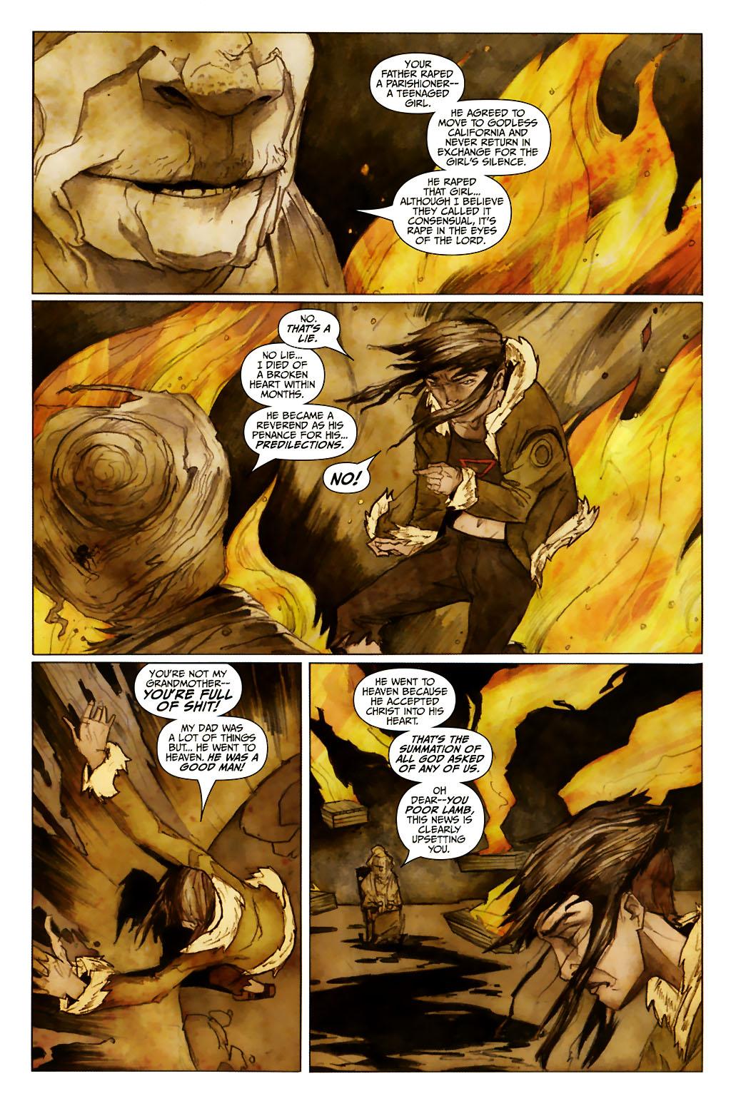 Girl 13 Page 6 #6 - English 10
