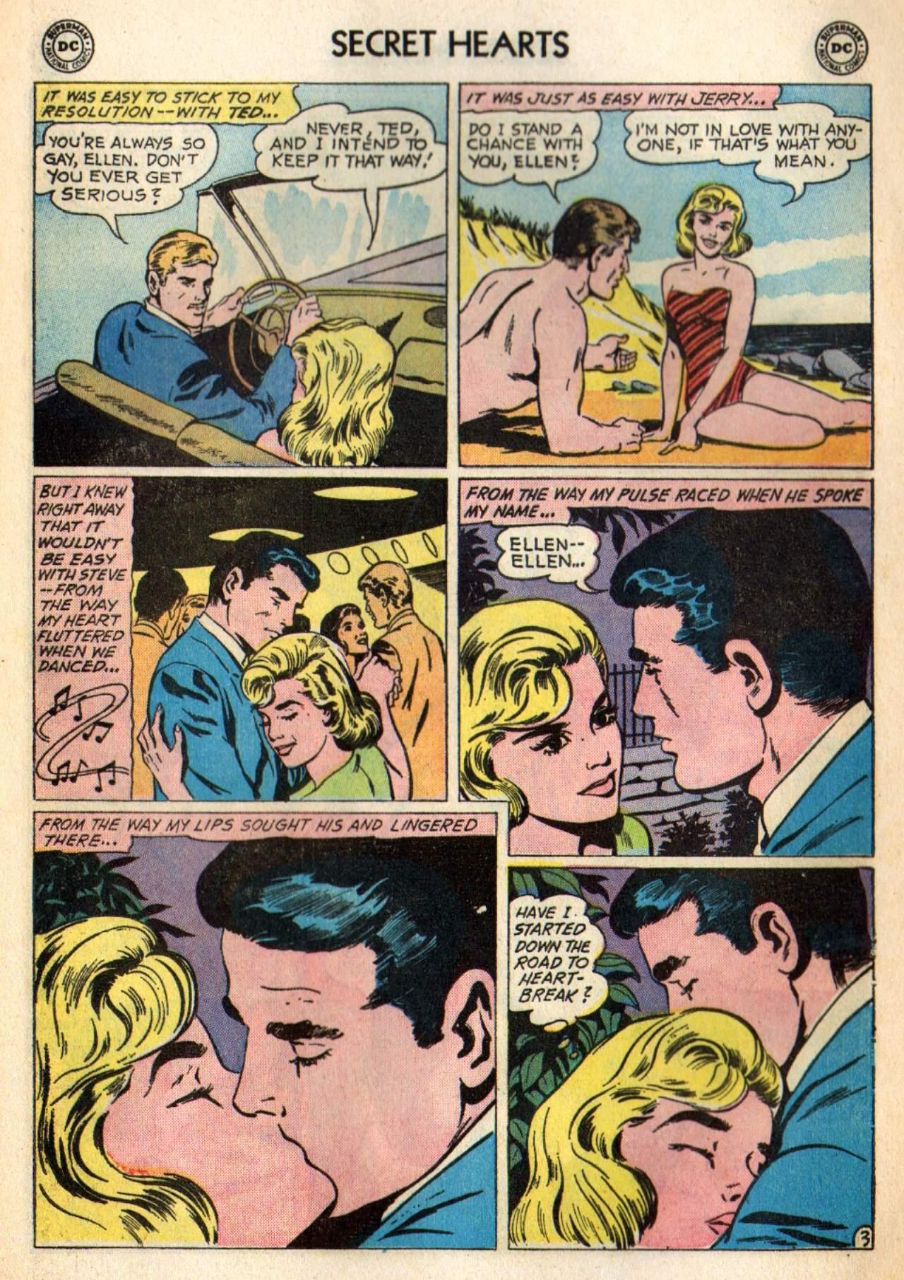 Read online Secret Hearts comic -  Issue #98 - 5