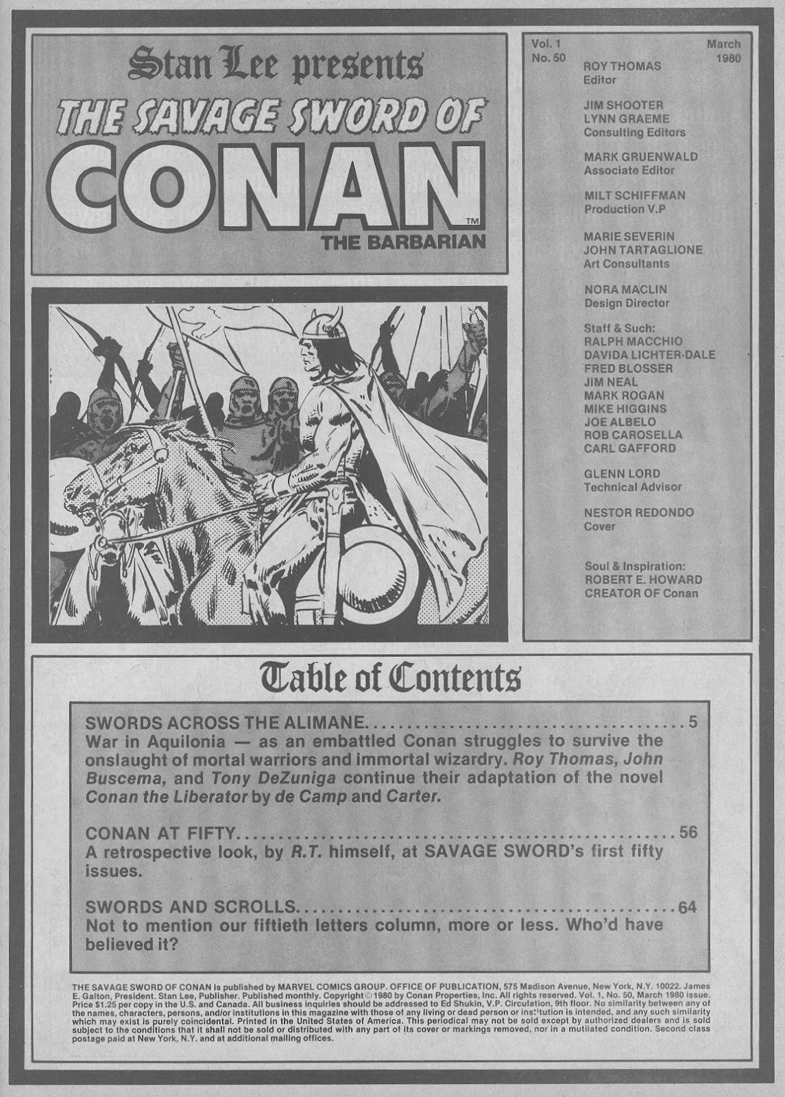The Savage Sword Of Conan Issue #50 #51 - English 3