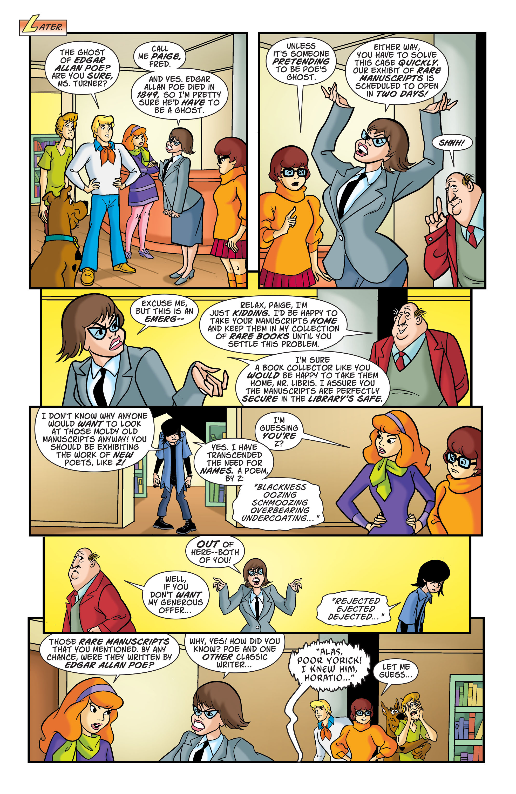 Read online Scooby-Doo: Where Are You? comic -  Issue #76 - 4