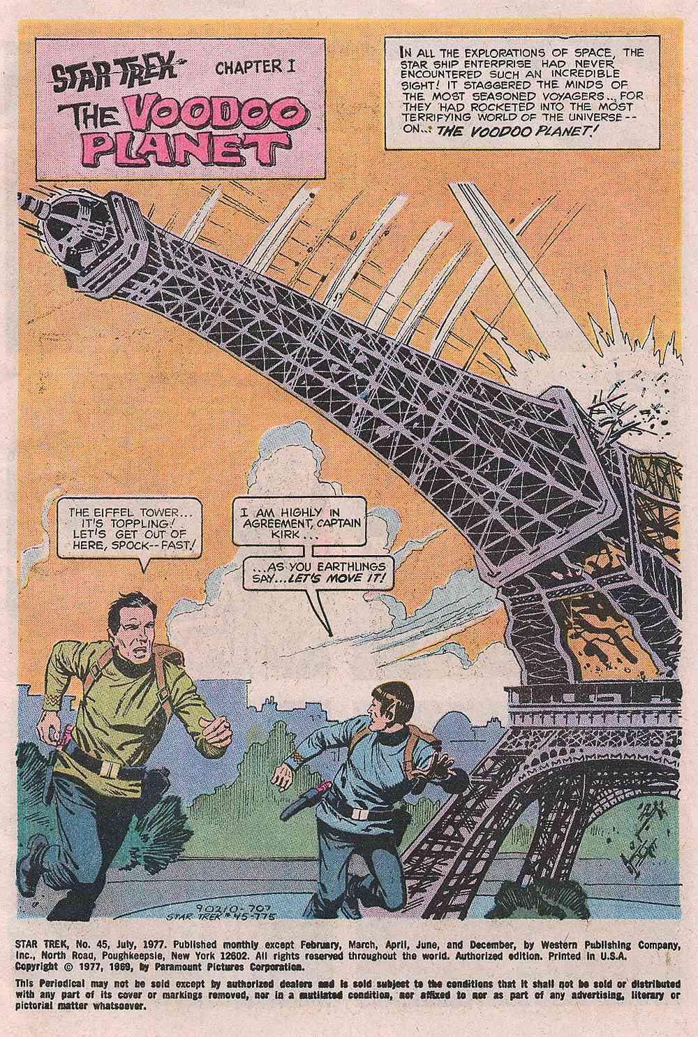 Star Trek (1967) #45 #45 - English 2