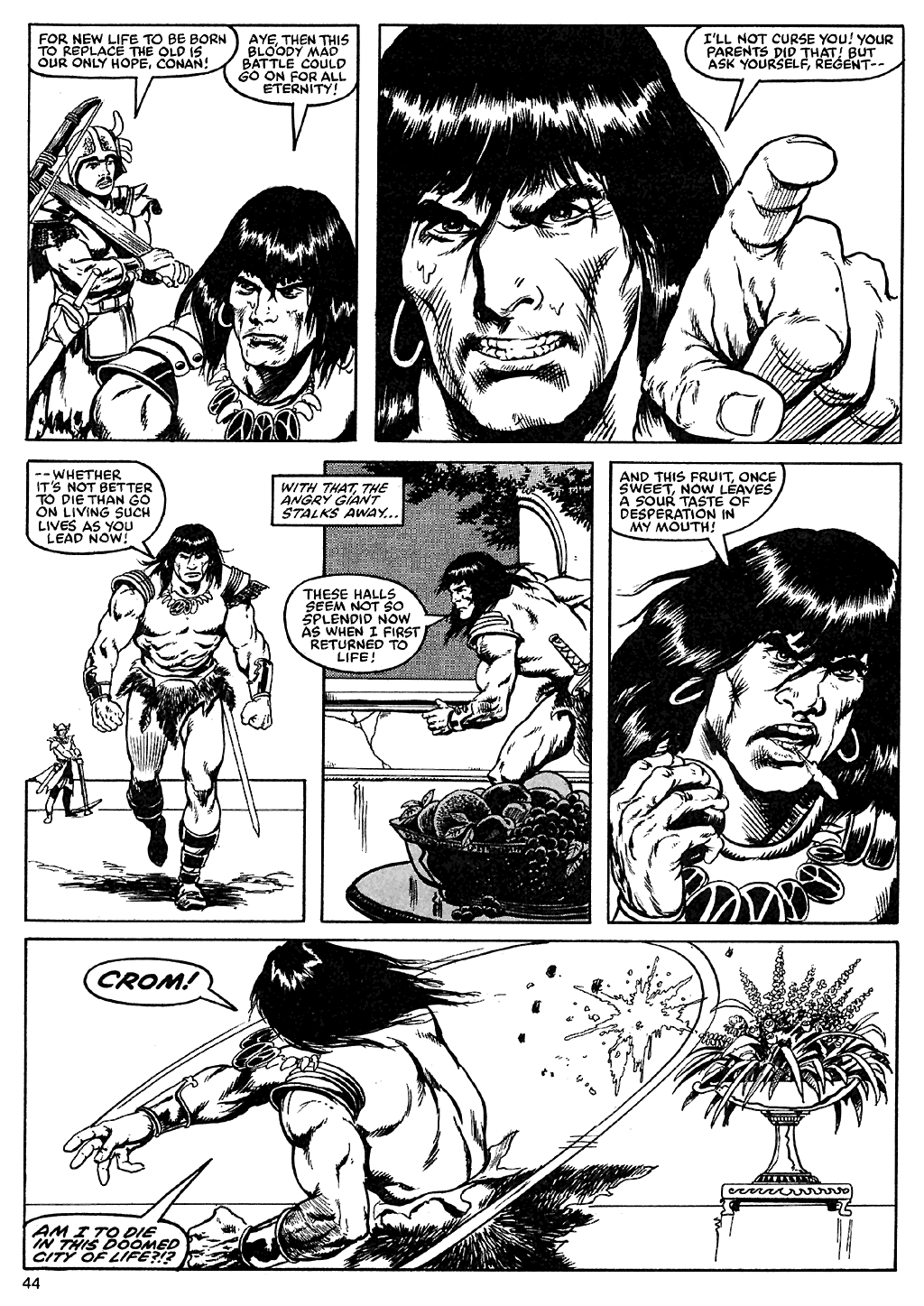 The Savage Sword Of Conan Issue #110 #111 - English 42