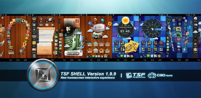TSF Shell Apk v1.9.9.3