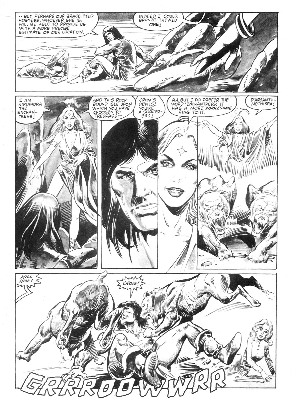 The Savage Sword Of Conan Issue #94 #95 - English 11