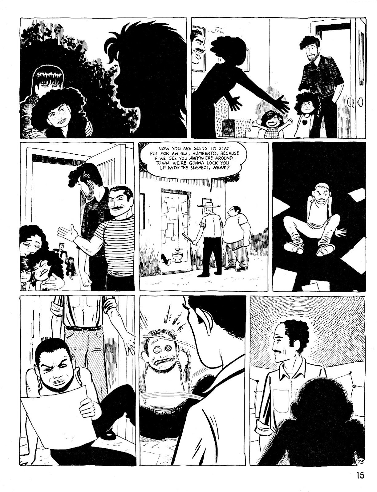 Love and Rockets (1982) Issue #25 #24 - English 19