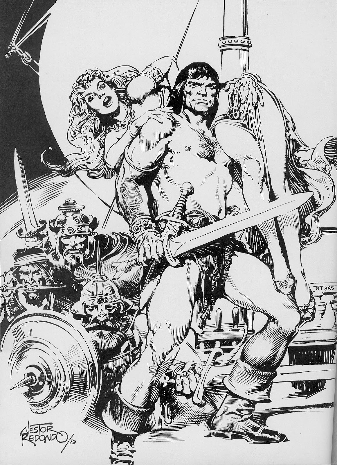 The Savage Sword Of Conan Issue #51 #52 - English 2