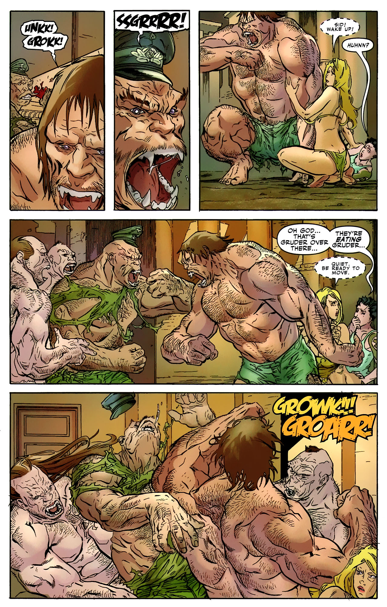 Read online Shanna the She-Devil: Survival of the Fittest comic -  Issue #2 - 19