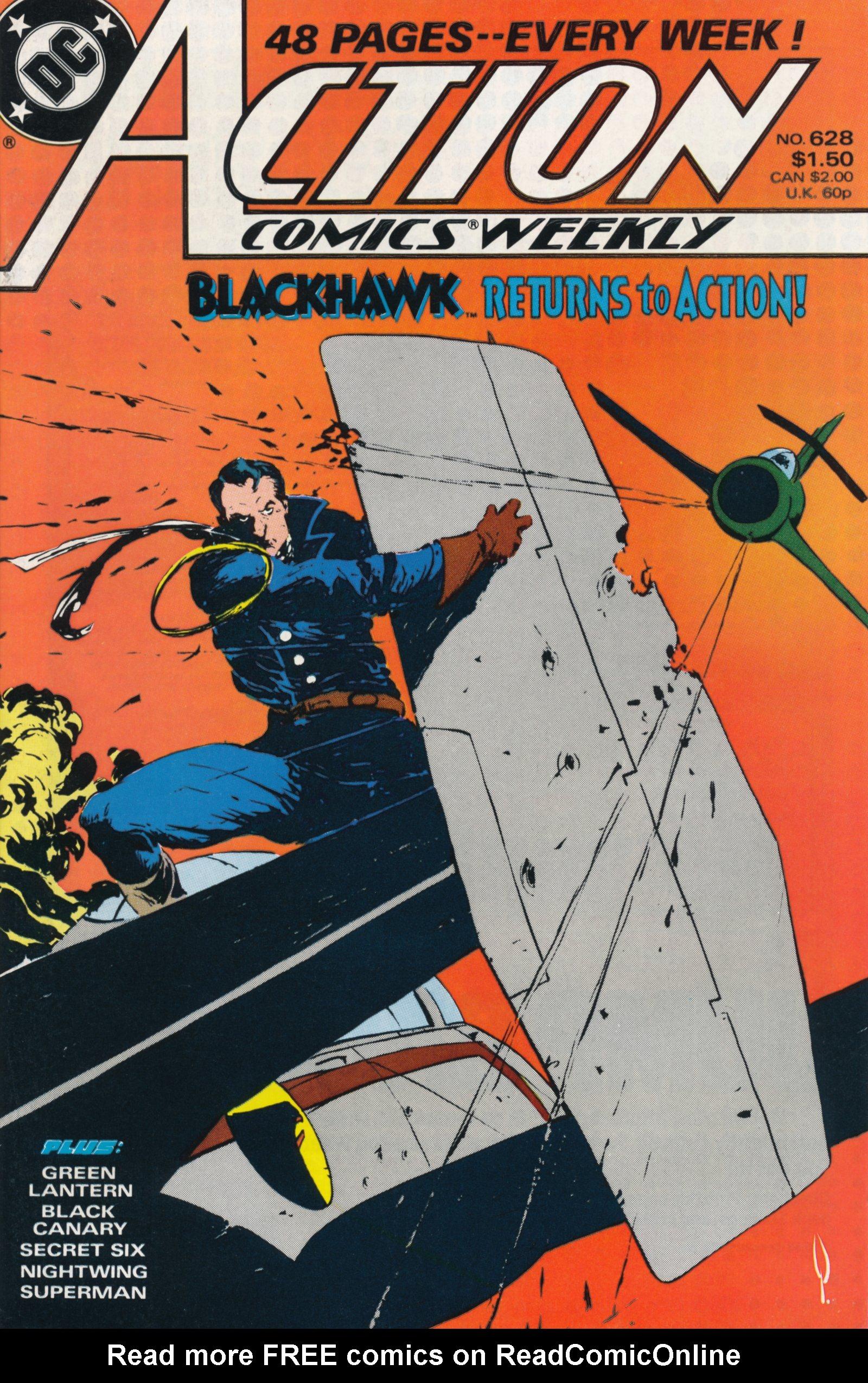 Action Comics (1938) 628 Page 1