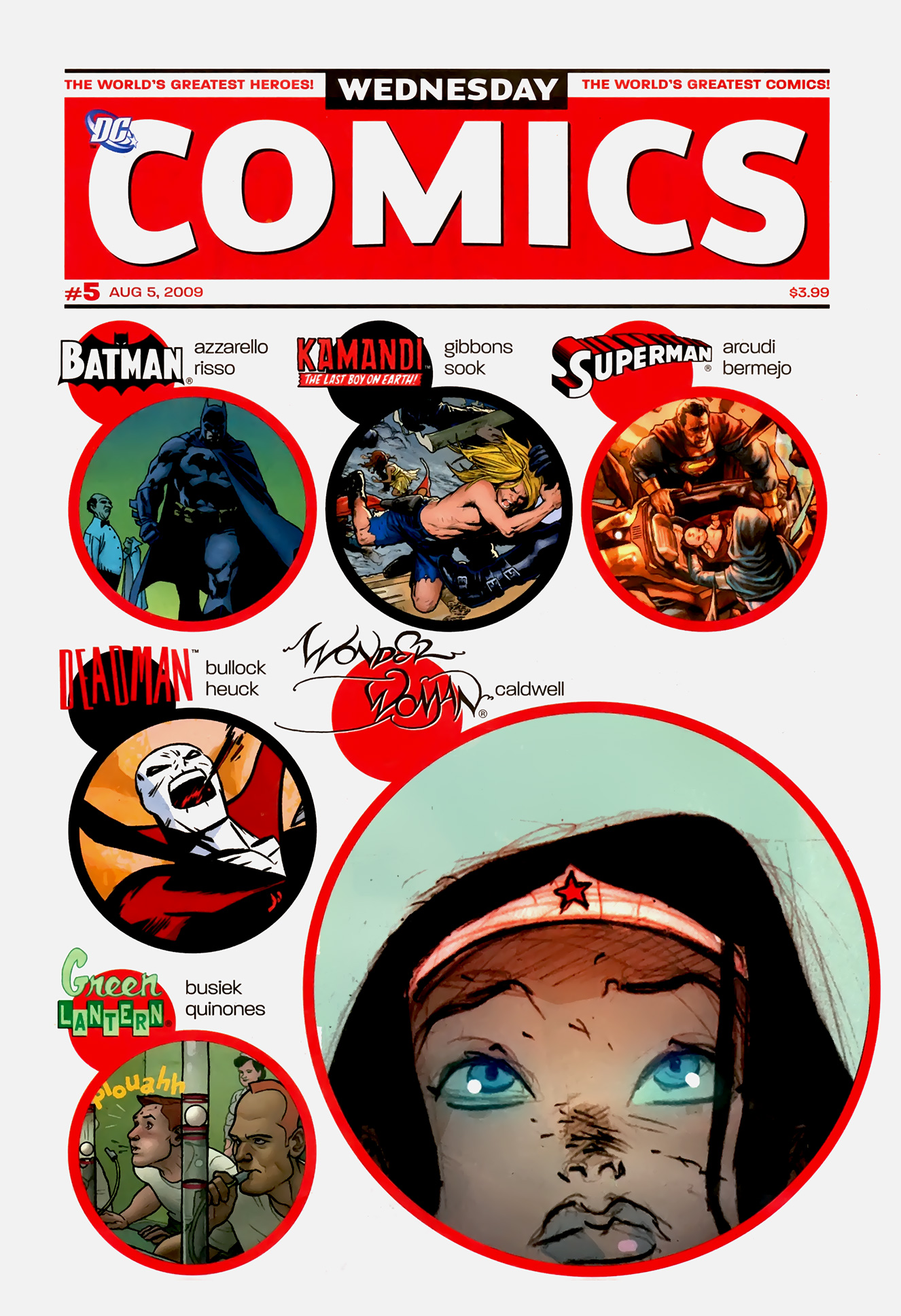 Read online Wednesday Comics comic -  Issue #5 - 1
