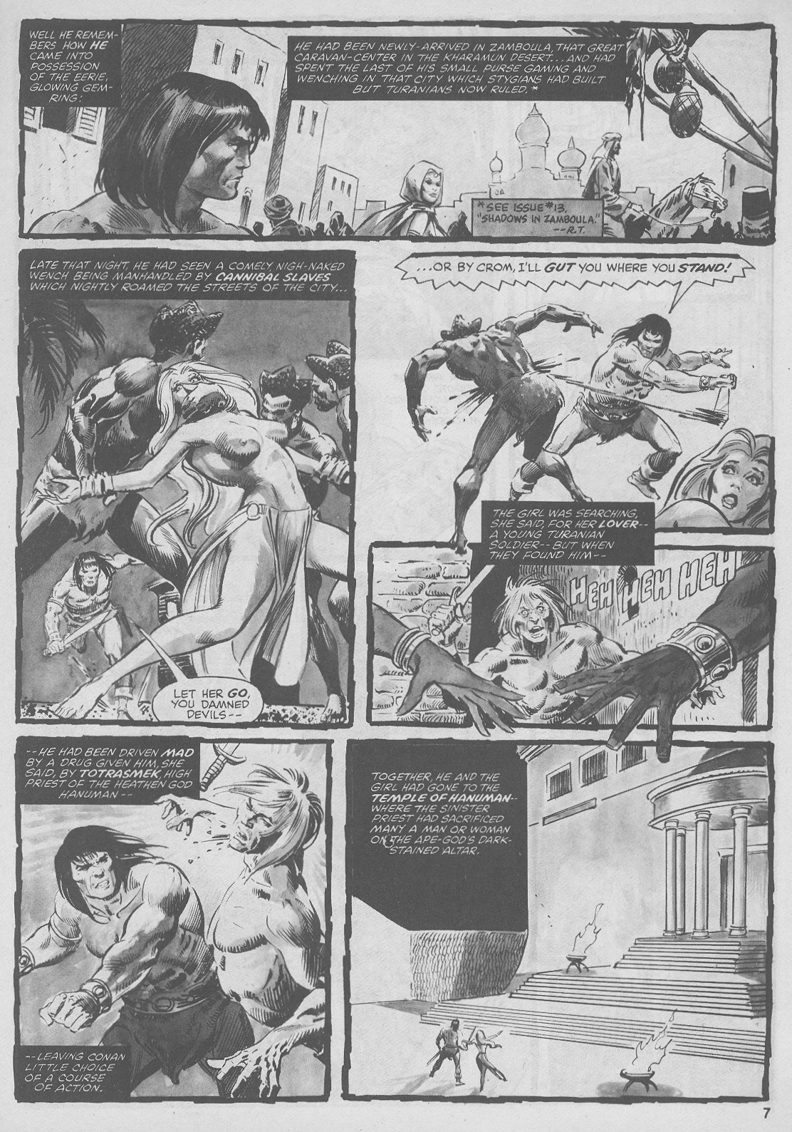 The Savage Sword Of Conan Issue #44 #45 - English 7