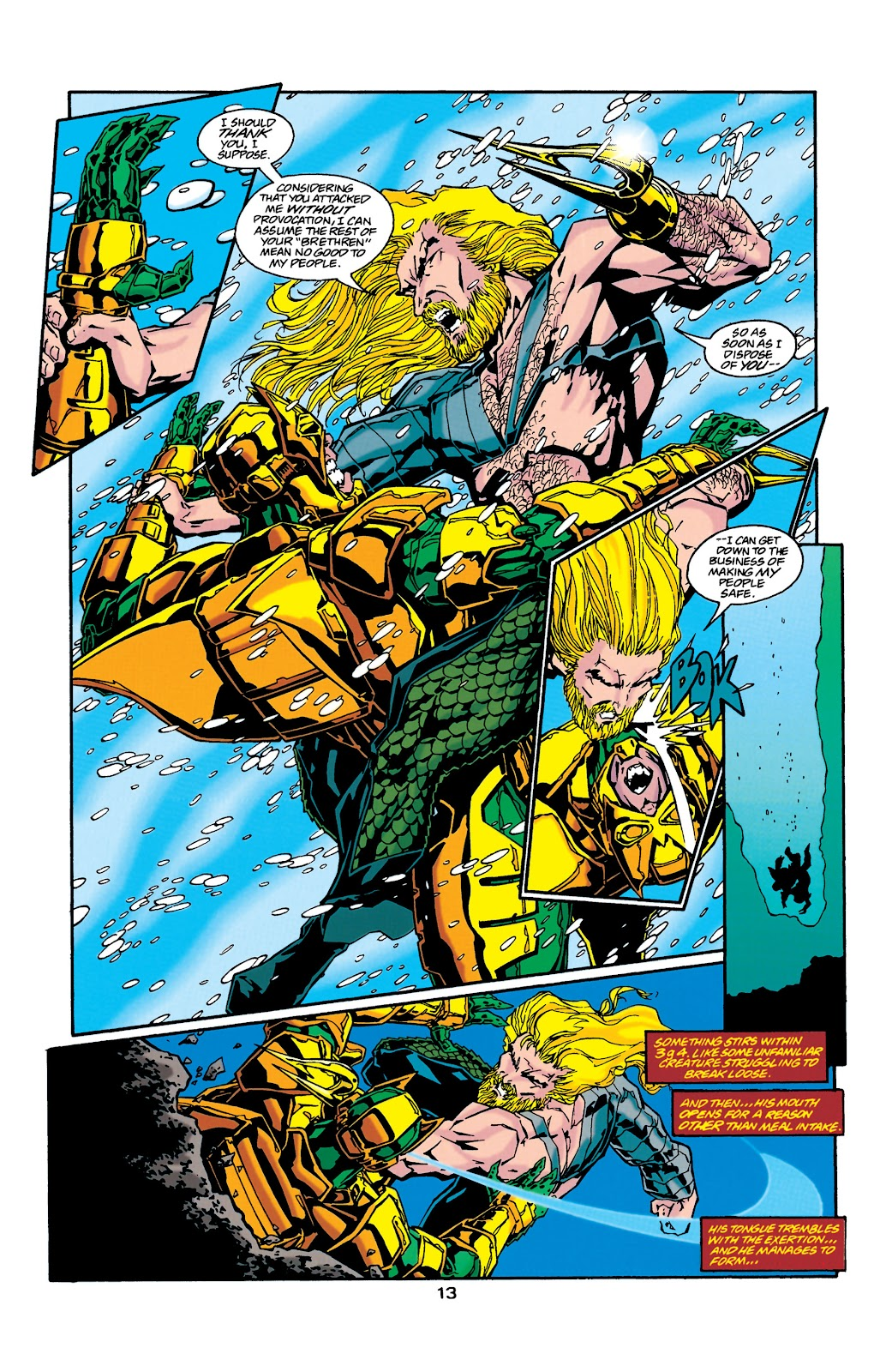 Aquaman (1994) Issue #37 #43 - English 13