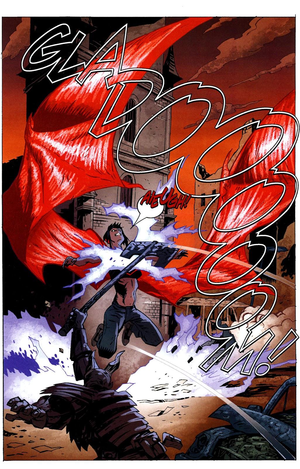 Strange Girl Issue #16 #17 - English 16