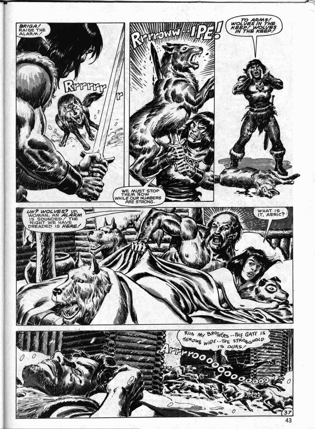 The Savage Sword Of Conan Issue #133 #134 - English 42
