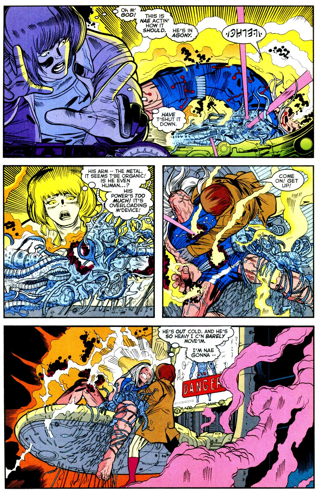 Cable (1993) #-1 #109 - English 17