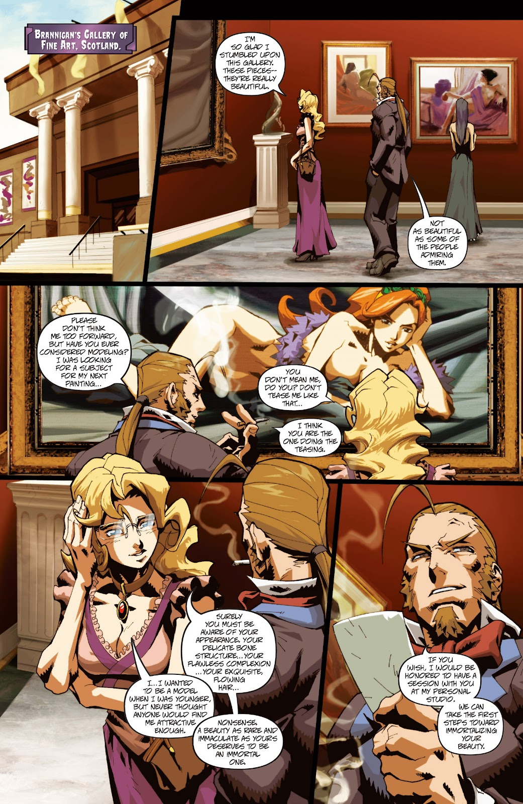 Darkstalkers Issue #3 #4 - English 10