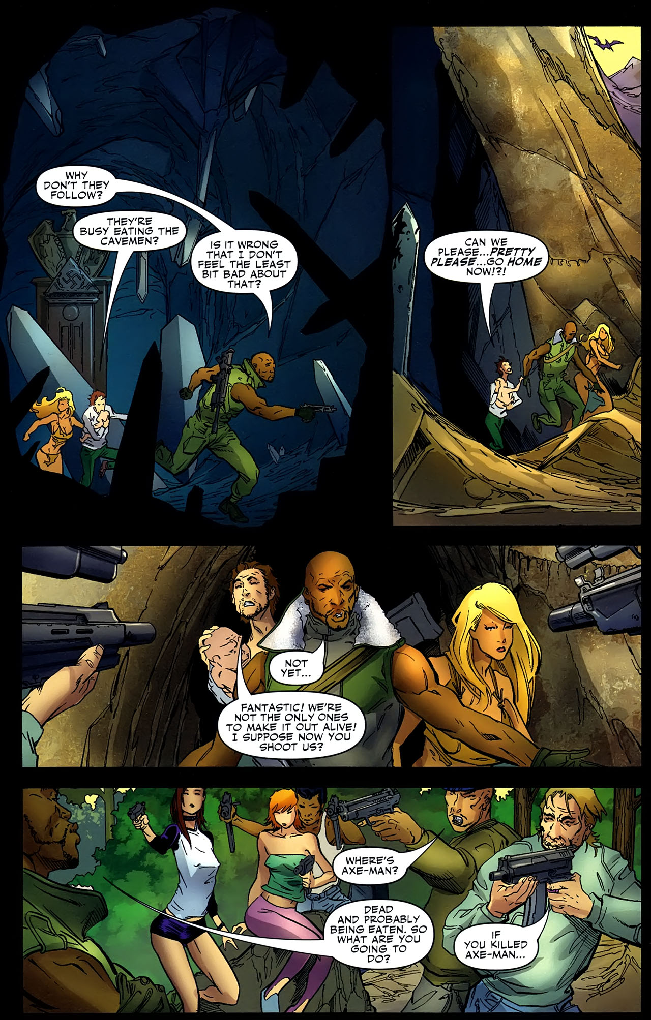 Read online Shanna the She-Devil: Survival of the Fittest comic -  Issue #4 - 11
