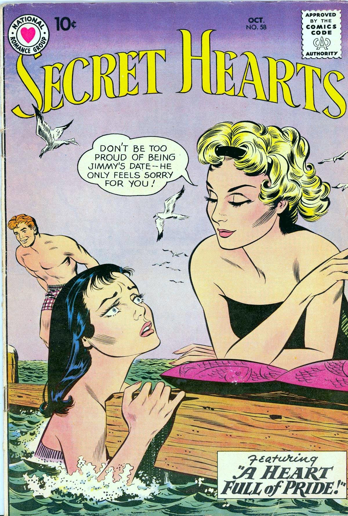 Read online Secret Hearts comic -  Issue #58 - 1
