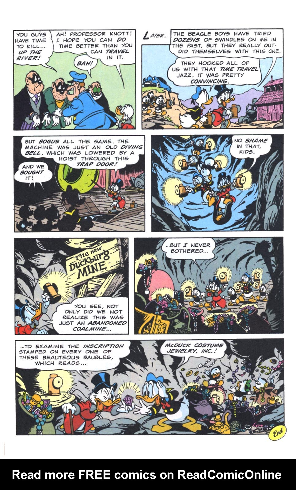 Uncle Scrooge (1953) Issue #250 #250 - English 37