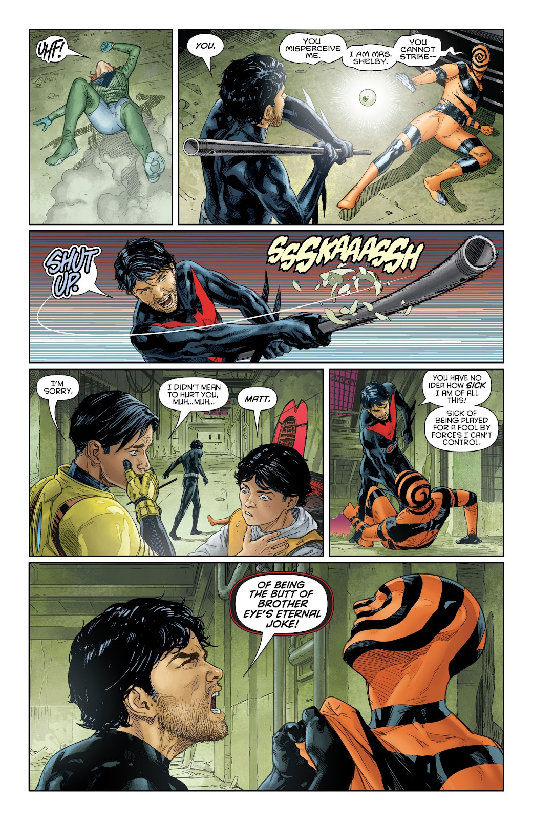 Batman Beyond (2015) Issue #16 #16 - English 11