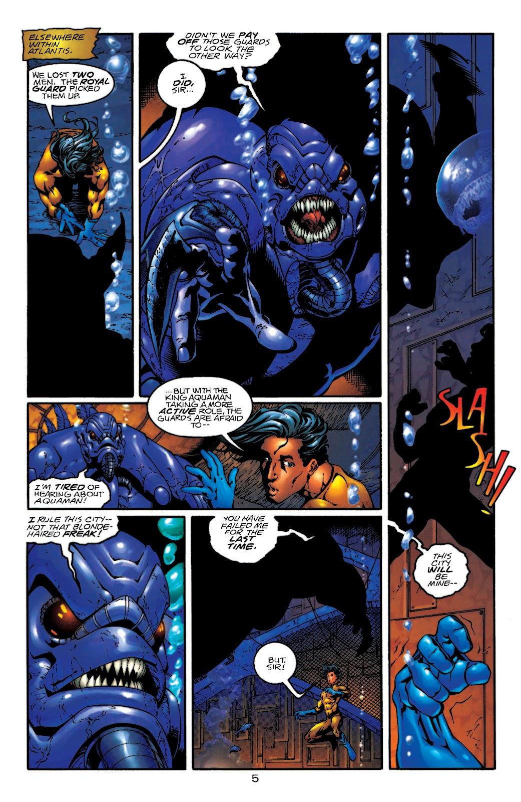 Aquaman (1994) Issue #55 #61 - English 6